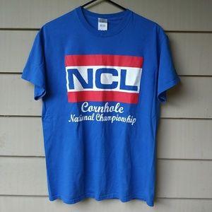 National Cornhole League T Shirt Medium